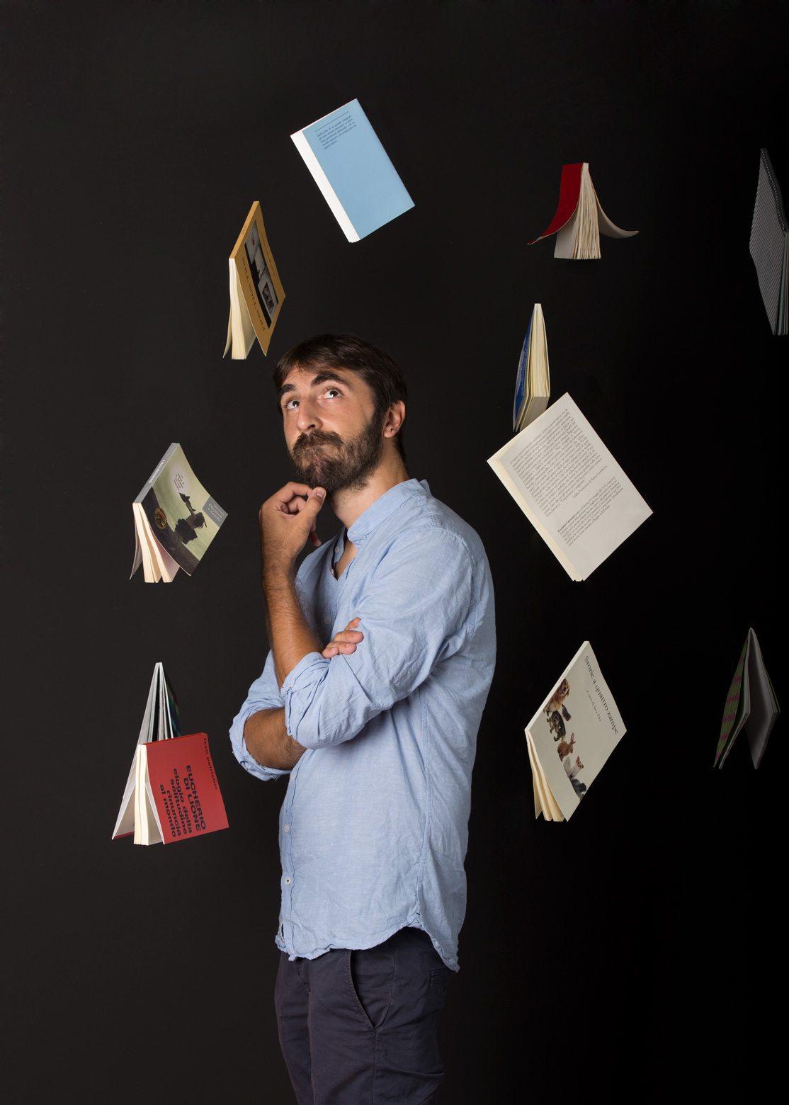 Fotografia di uno scrittore padovano Alessandro Busi