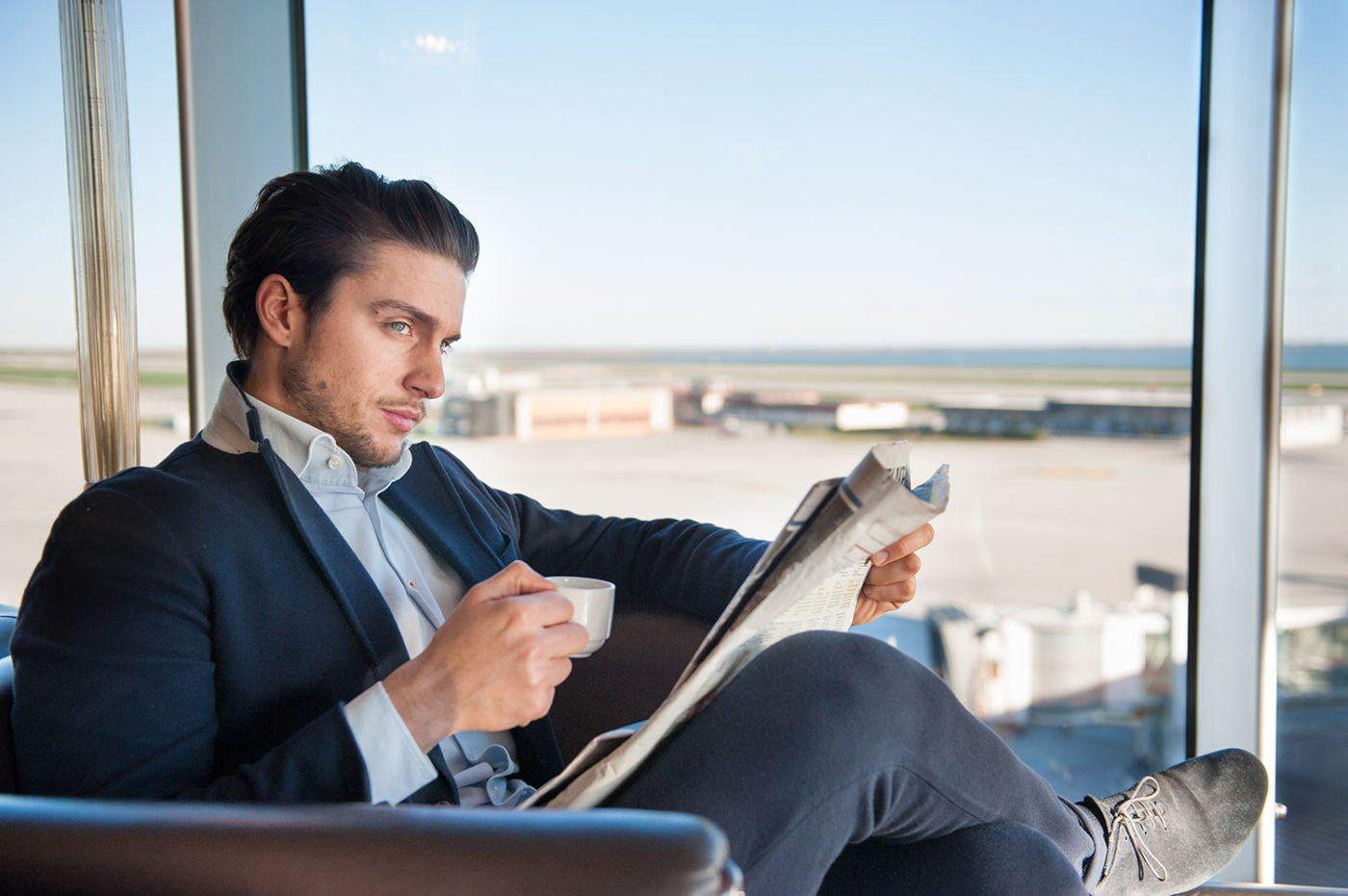 servizio fotografico con modello per aeroporto di venezia fotografato da francesca bottazzin